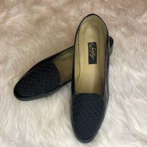 Vintage Selby Advice Black Loafers-10W